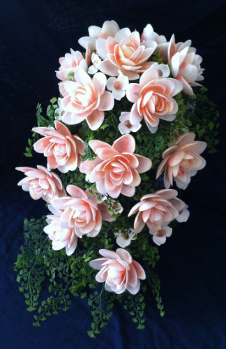 seashell%20crafts%20cascading%20wedding%20flowers
