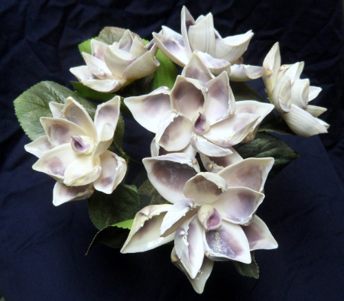 seashell%20crafts%20flowers%20purple%20home%20decor%20nautical