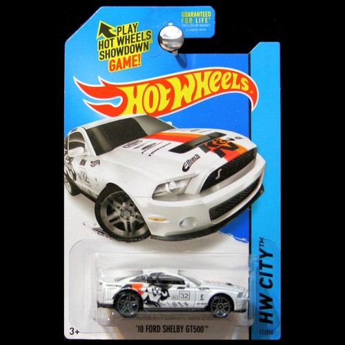 hot wheels 2015 hw city performance 2010 ford mustang shelby gt500