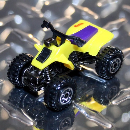 Hot Wheels Suzuki Quad Racer Yellow Very Rare Carminiatures Com