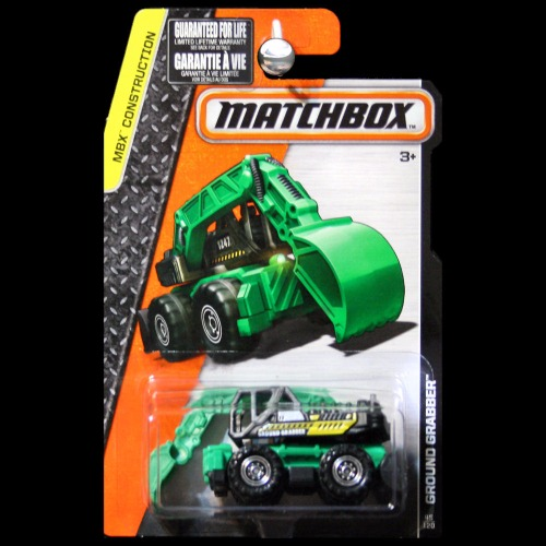 Matchbox 2016 MBX Construction Ground Grabber Tractor