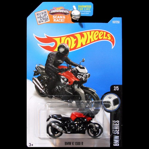 hot wheels 2016 bmw series bmw k 1300 r in red