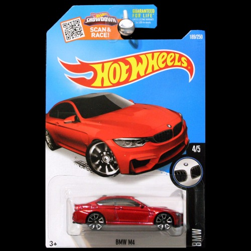 Hot Wheels 2016 Bmw Series Bmw M4 In Red Carminiatures Com
