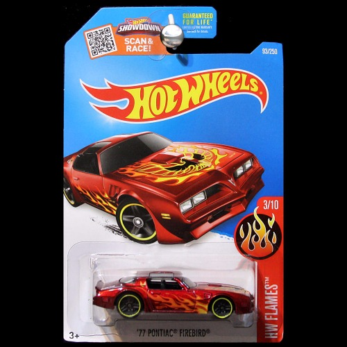 hot wheels 2016 hw flames 1977 pontiac firebird red