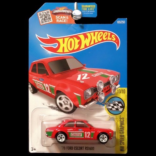 hot wheels 2016 speed graphics 1970 ford escort rs1600 red