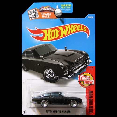 Hot Wheels 2016 Then And Now 1963 Aston Martin Db5 In
