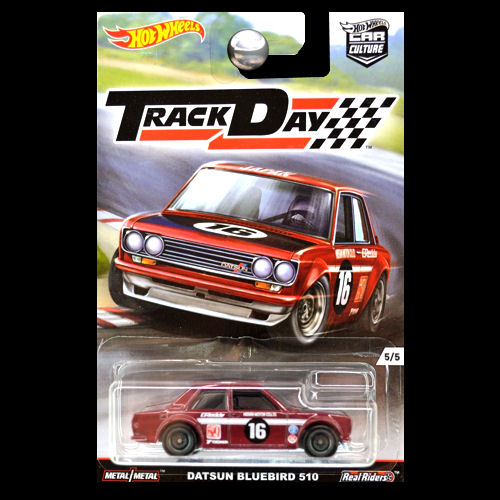 hot wheels car culture track day datsun bluebird 510 in. Black Bedroom Furniture Sets. Home Design Ideas