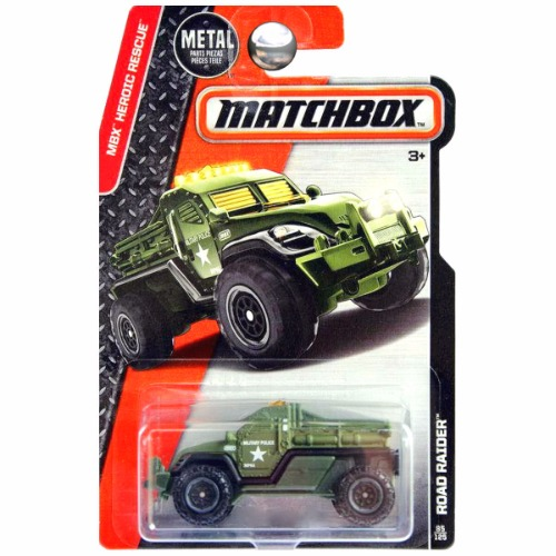Matchbox 2016 MBX Heroic Rescue Road Raider Military