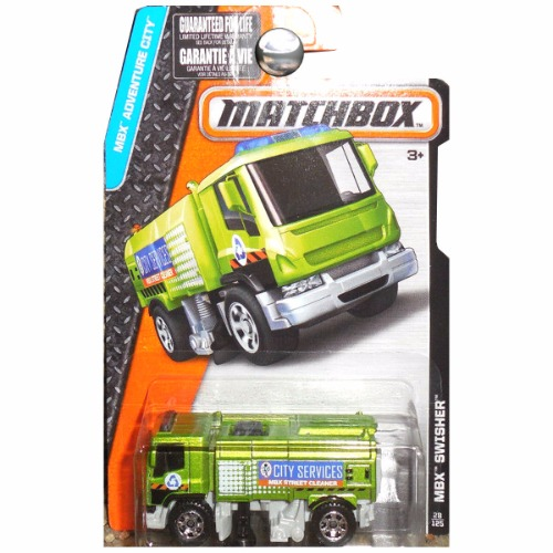 Matchbox 2016 Adventure City MBX Swisher Street Cleaner