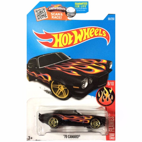 Hot Wheels 2016 HW Flames 1970 Chevy Chevrolet Camaro