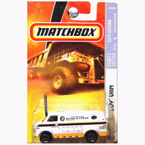 Matchbox 2008 City Action Chevrolet Chevy Van City