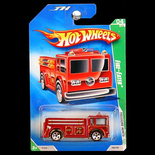 Hot Wheels 2009 Treasure Hunts Fire Eater Diecast Fire