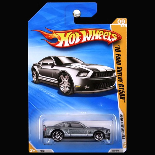 Hot Wheels 2010 New Models Ford Mustang Shelby GT500 GT