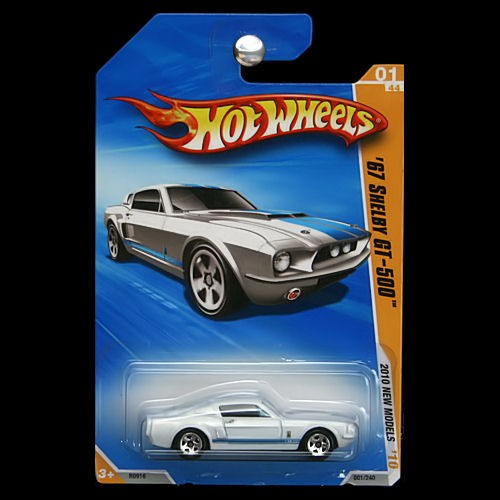 Hot Wheels 2010 New Models 1967 Ford Mustang Shelby Gt 500