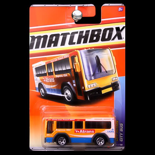 Matchbox 2011 City Action City Bus Atrans Carminiatures Com