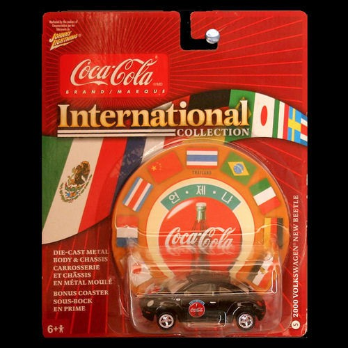 Johnny Lightning Coca Cola International Volkswagen Vw
