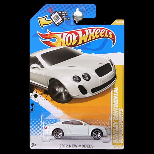 Cost Of A New Bentley: Hot Wheels 2012 New Models Bentley Continental Supersports