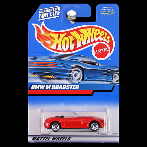 Hot Wheels 2000 Bmw M Roadster Red Convertible