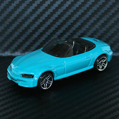 Bmw Z 4 Price: Hot Wheels 1996 BMW M Roadster Blue RARE