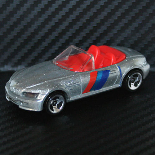 Bmw Z3 Drift Car: Hot Wheels 1997 BMW Z3 M Roadster Silver Convertible