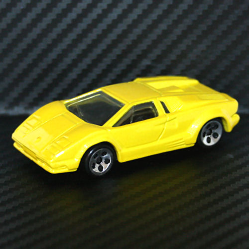 Hot Wheels 1997 First Editions Lamborghini Countach Yellow