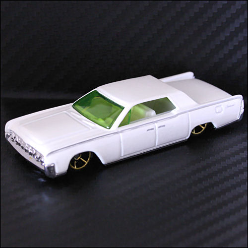hot wheels 2007 new models 1964 lincoln continental white. Black Bedroom Furniture Sets. Home Design Ideas