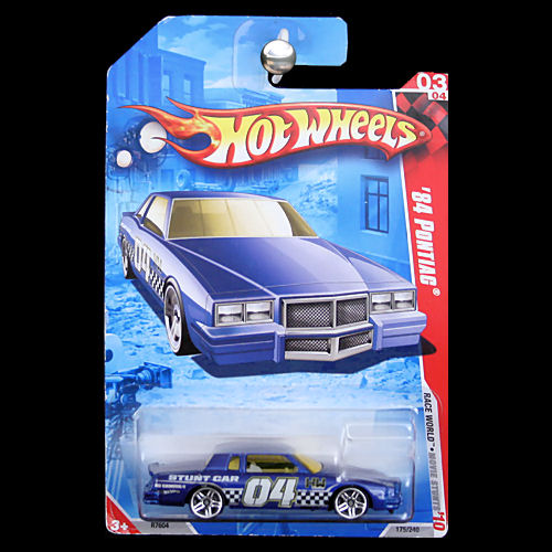 Hot Wheels 2010 Race World Movie Stunts 1984 Pontiac Grand