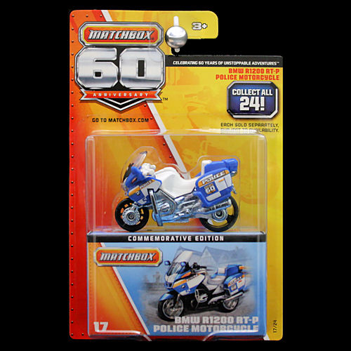 Matchbox 60th Anniversary Superfast Bmw R1200 Rt P Police