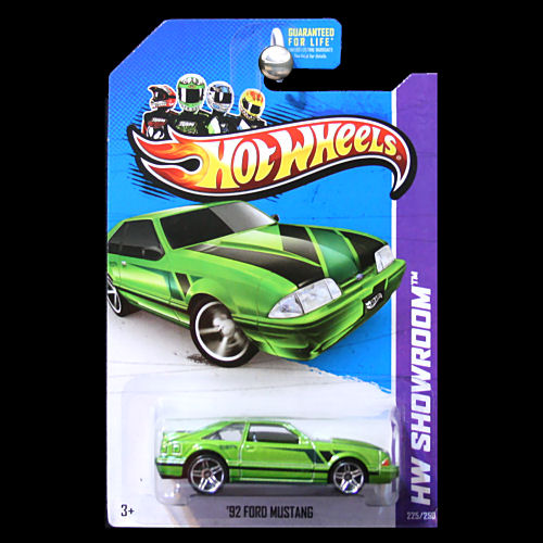 Hot Wheels 2013 Hw Showroom 92 Ford Mustang Fox Body