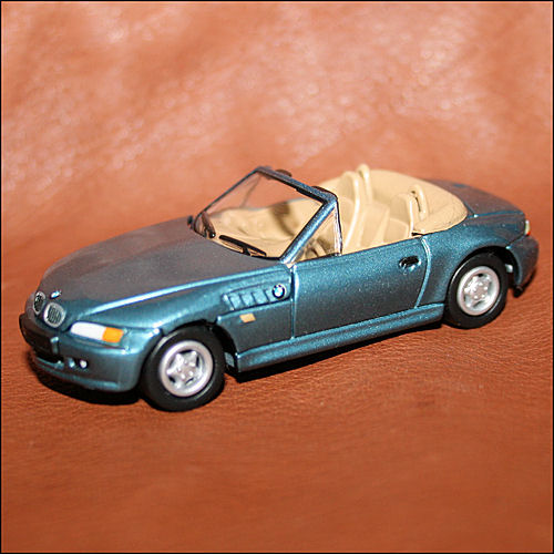 Bmw Z3 Drift Car: Johnny Lightning James Bond 007 Goldeneye BMW Z3 Blue