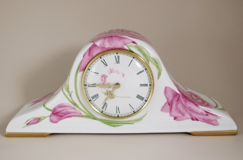 Givenchy Rose Mantle Clock 1