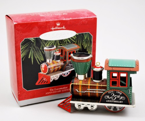 Hallmark Tin Locomotive 1