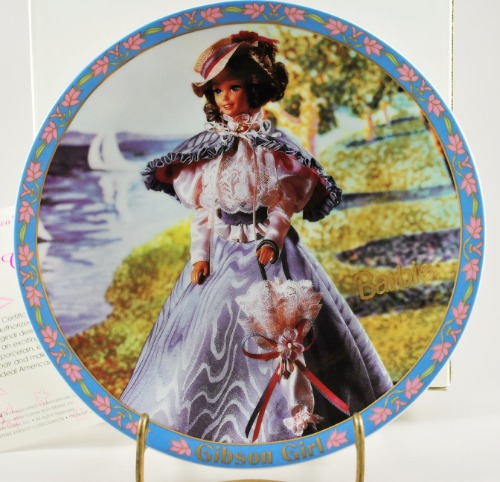 Barbie Gibson Girl Plate 2