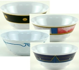 Galleyware Decorated Nautical 20-oz. Soup Bowls - Sandie\'s Galley & More