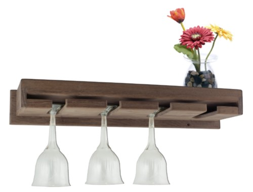 seateak wine glass rack w shelf 62426 sandie 39 s galley more. Black Bedroom Furniture Sets. Home Design Ideas