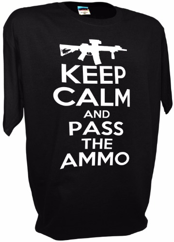 KEEP CALM PASS AMMO BK