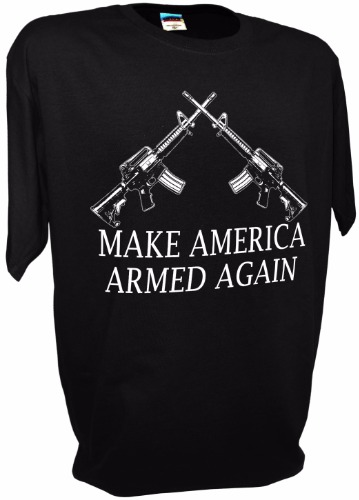 MAKE AMERICA GREAT AGAIN DOUBLE AR15 BK