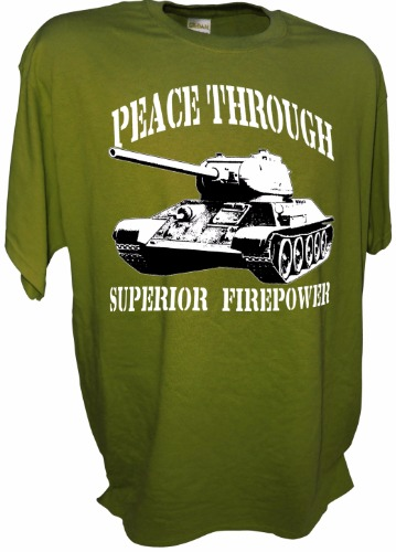 PEACE T34-85 GREEN