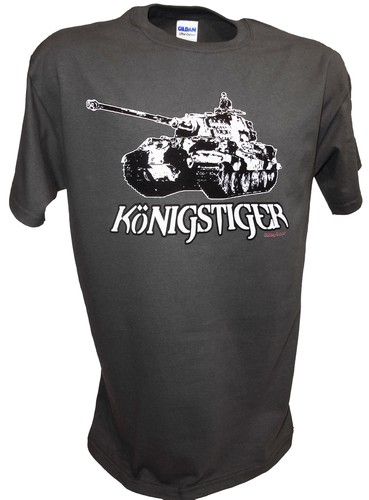 Konigstiger Tiger 2 Tank German Rc Ww2 Panzer gray.jpeg