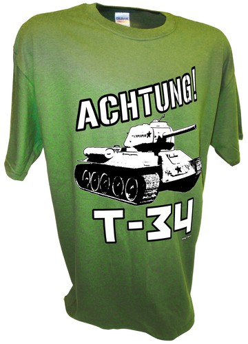 Achtung T-34 World War 2 Russian Soviet Red Army Tank green.jpeg