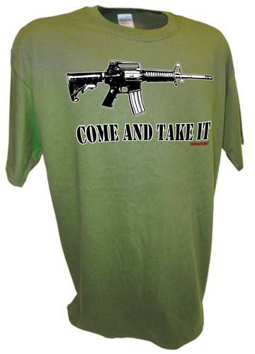 Come and Take It Ar15 ak4 pro gun 2nd amendment t shirt gn.jpeg