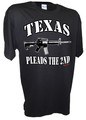 Texas Pleads the 2nd Ar15 ak47 pro gun 2nd amendment t shirt bk.jpeg