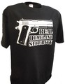 Real Security 45 auto colt 1911 Handgun t shirt black.jpeg