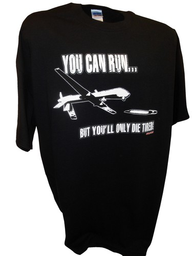 You Can Run Army Airforce Predator Drone Missle Bomber War Iraq bk.jpeg