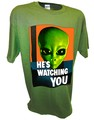 Alien Hes Watching Paranormal Area 51 Ufo x files t shirt green.jpeg