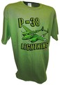 P-38 Lightning Airforce Army Fighter Bomber Ww2 Warbird green.jpeg