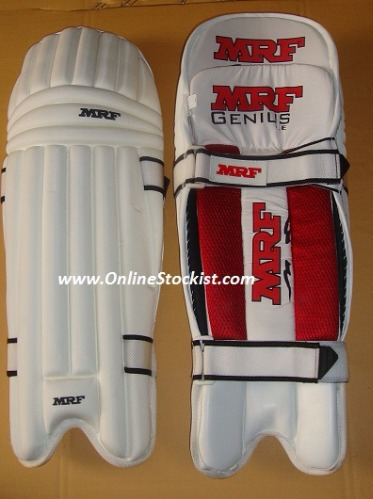 MRF GENIUS LE Limited Edition Moulded Cricket Batting Pads 2018-2019