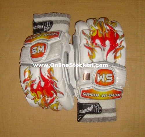SM King of Kings Blaze Edition Players Batting Gloves 2017