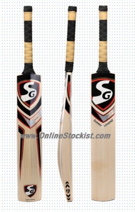 SG SUNNY LEGEND Premium Reserve Grade 1  English Willow Cricket Bat - Players Choice 2018-2019
