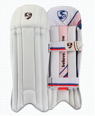 SG League Cricket Wicket Keeping Pads 2016-2017